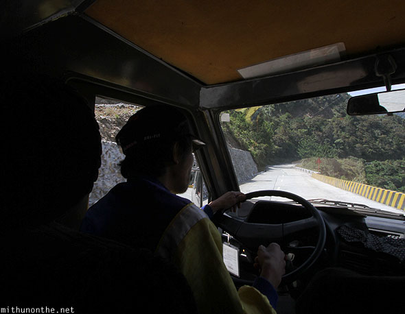 Jeepney driver to Bontoc