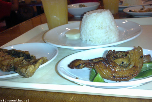 Kabayan hotel pasay lunch Manila Philippines