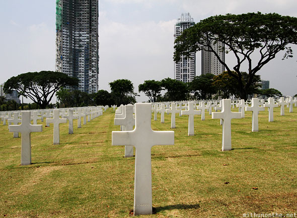 Manila American War Cemetery War Memorial global city