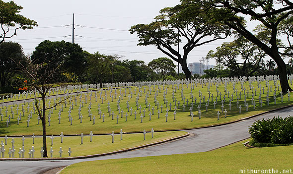 Manila American War cemetery & memorial afternoon
