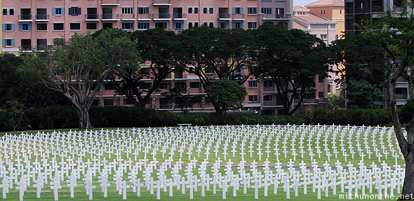 Manila American War cemetery memorial graves apartments