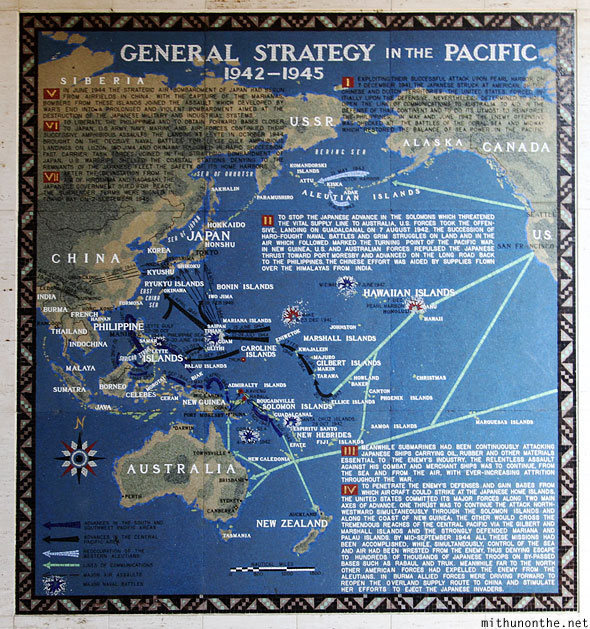 Manila American war cemetery memorial pacific strategy