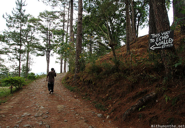 Path to Echo valley Sagada Philippines