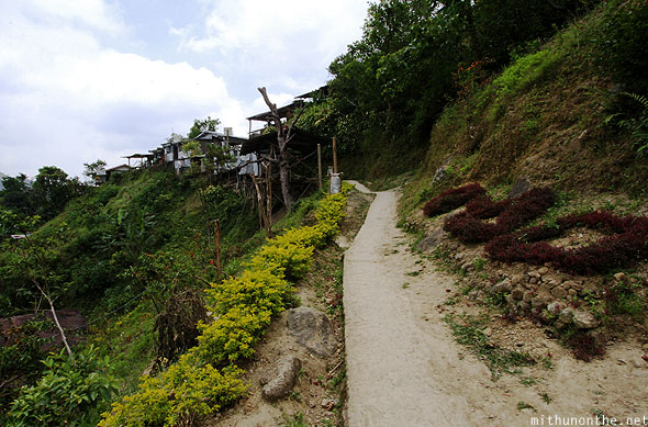 Path to school Batad village