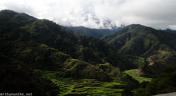 Sabangan rice terraces Ifugao province Philippines