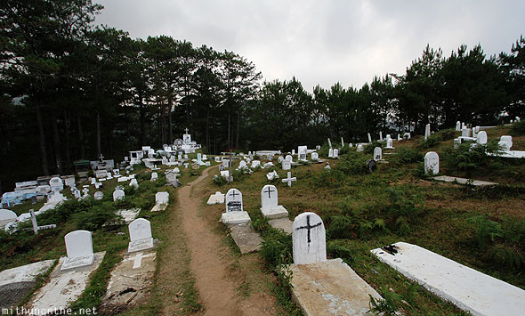 Sagada church cemetery burial ground Philippines