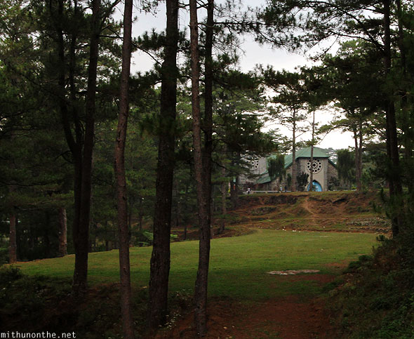 Sagada church forest Philippines