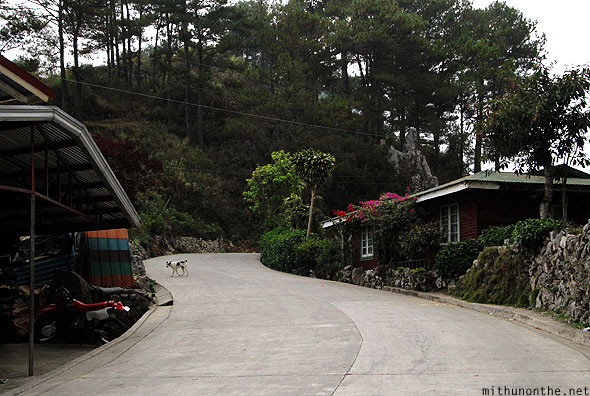 Sagada concrete road house Philippines
