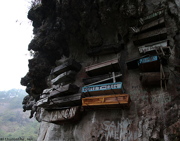 Sagada hanging coffins cliffside echo valley Philippines