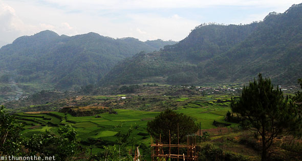 Sagada rice terraces hills Philippines