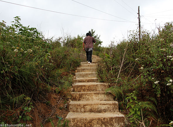 Sagada steps to open grounds