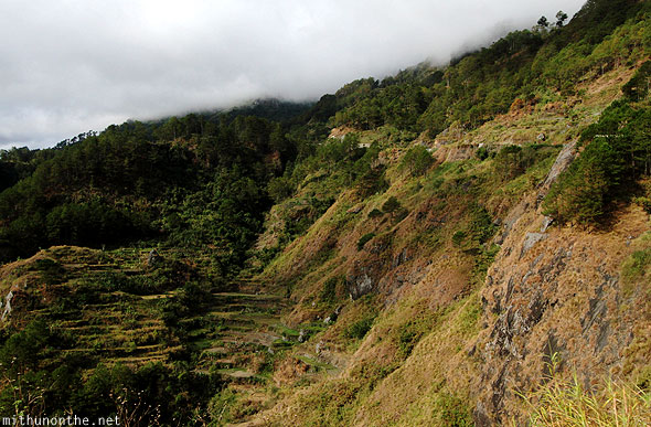 Sagada to Baguio bus journey Ifugao hills