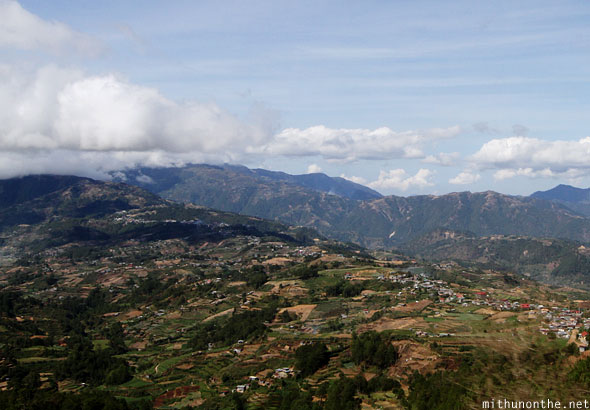 Sagada to Baguio Halsema highway views