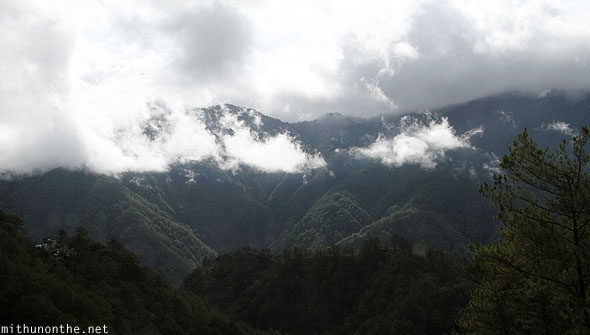 Sagada to Baguio white clouds Philippines