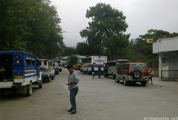 Sagada village early morning buses