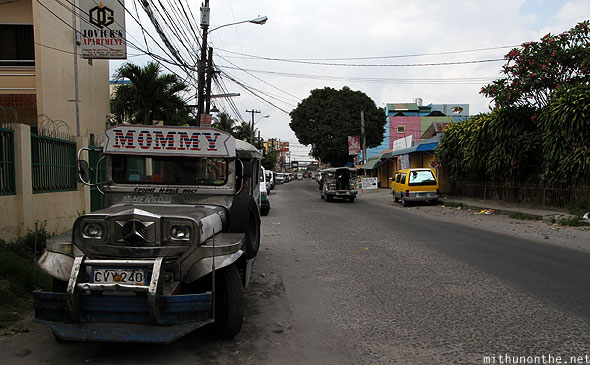 San Narciso street jeepney Angeles City Philippines