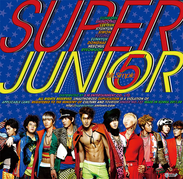 Super Junior Mr. Simple new album cover members