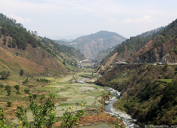 Valley farm on the way to Bontoc