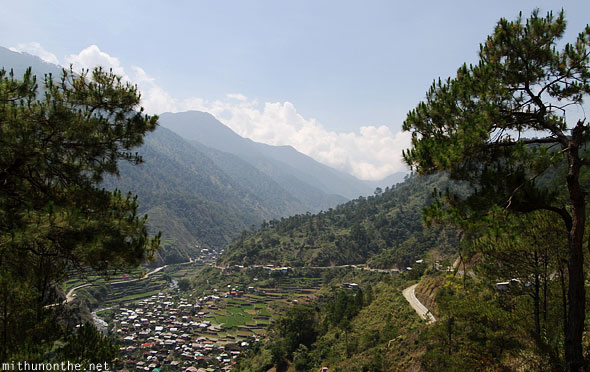 Village on way to Bontoc