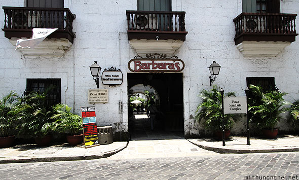 Barbara's hotel Intramuros Manila Philippines