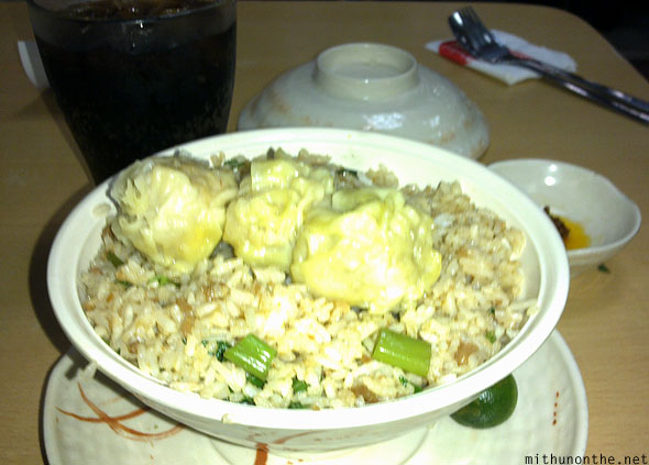 Chowking pork fried rice root beer combo meal