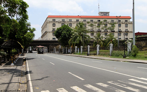 Department of labor and employment Intramuros Manila Philippines