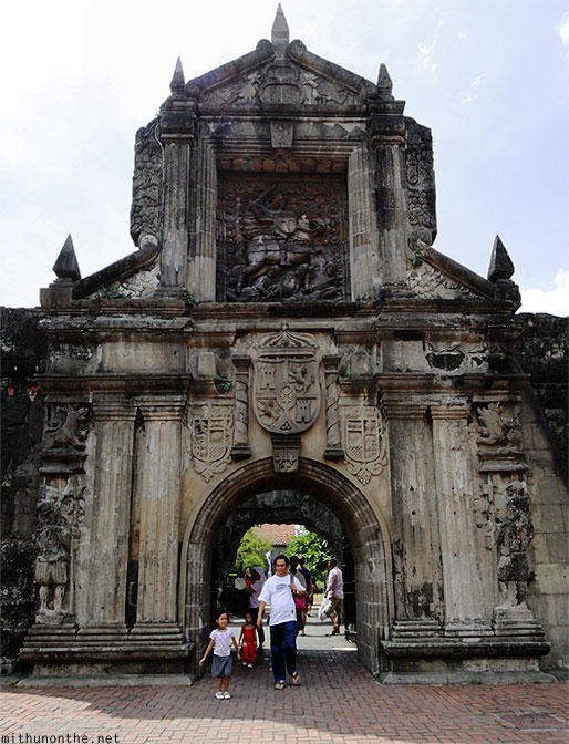 Fort Santiago entrance Intramuros Manila
