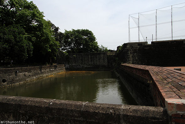 Fort Santiago pool Intramuros Manila