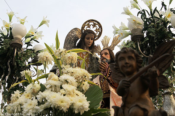 Good friday float San Fernando pampanga Philippines