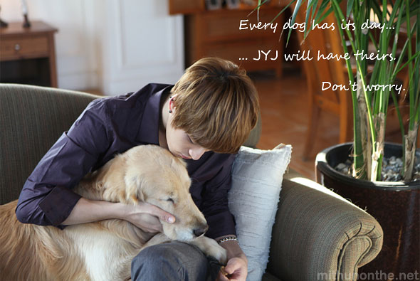 Jaejoong dog their rooms EP photo