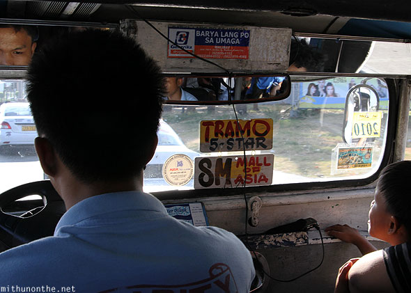 Jeepney to Mall of Asia Manila Philippines