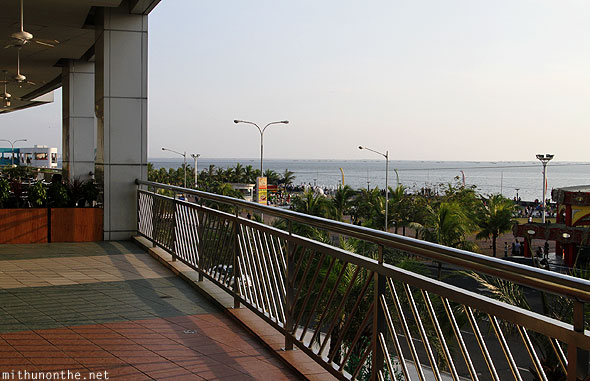 Mall of Asia balcony baywalk Manila Philippines