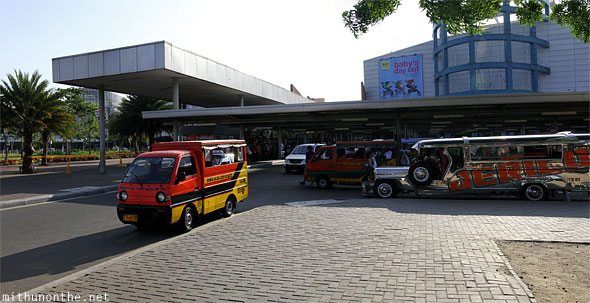Mall of Asia entrance Manila Philippines