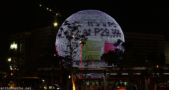 Mall of Asia Globamaze LED advertising Manila Philippines
