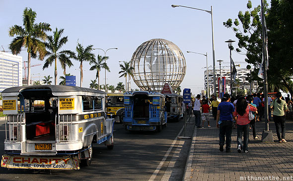 Mall of Asia jeepney drop off point Manila Philippines