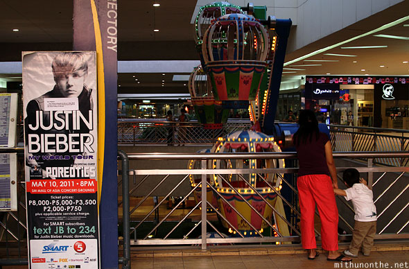 Mall of Asia Justin Bieber poster Manila Philippines