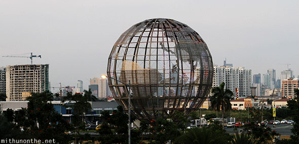 Mall of Asia led globe Manila Philippines