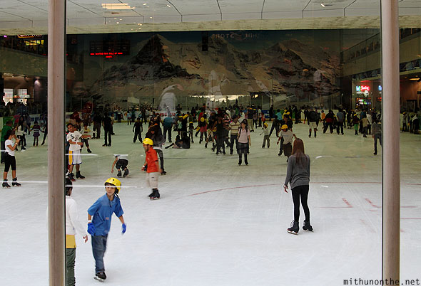Mall of Asia SM ice skating rink Manila Philippines