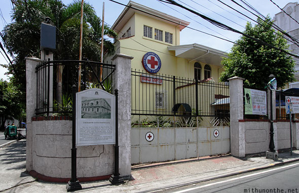 Colegio De Santa Potenciana Manila Red Cross Intramuros Philippines