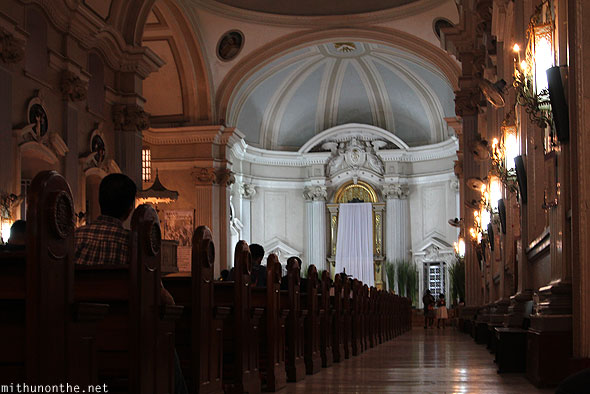 Metropolitan Cathedral of San Fernando hall Pampanga Philippines