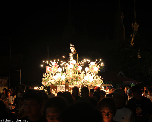 Saint Maria carrozas Good Friday procession Philippines