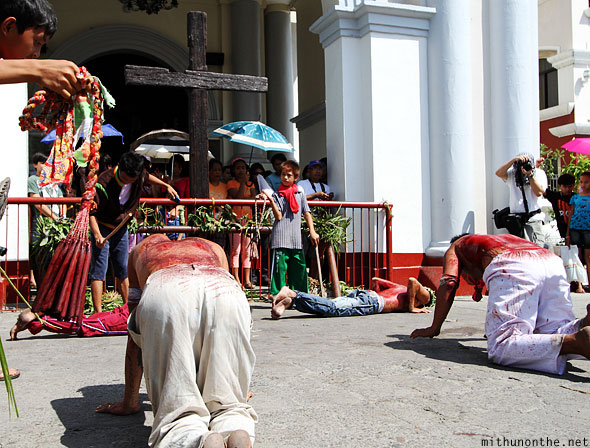 San Fernando cathedral cross flagellation Philippines