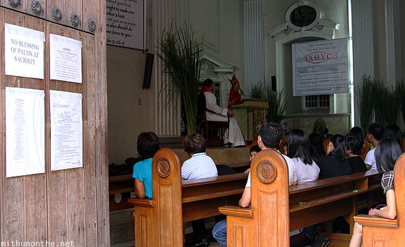 San Fernando Cathedral priest sermon good friday Pampanga