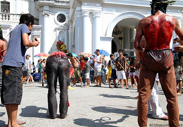 San Fernando church flagellation good friday Pampanga