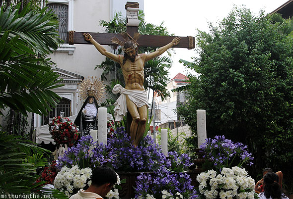 San Fernando good friday jesus float Pampanga