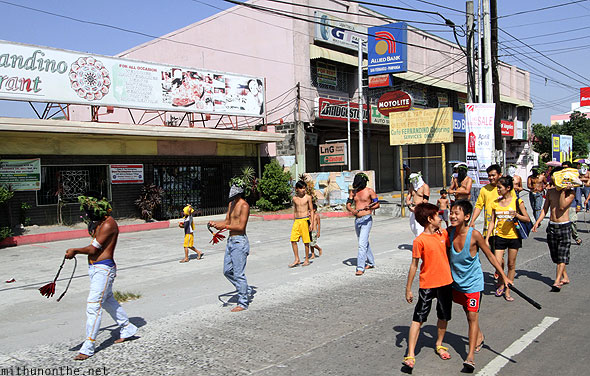 San Fernando good friday locals Pampanga