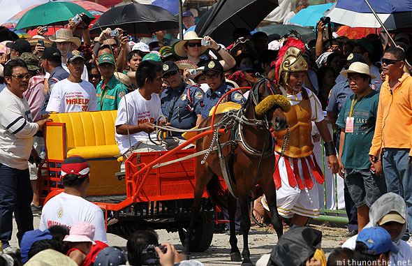 San Pedro Cutud passion play Chariot Philippines