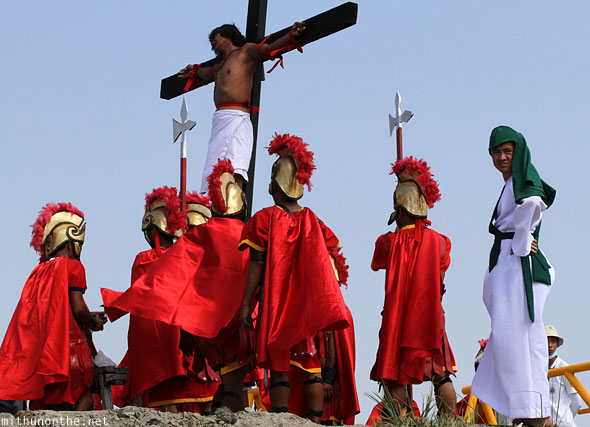 San Pedro Cutud passion play crucifixion play actors Pampanga