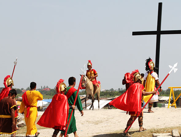 San Pedro Cutud passion play Pampanga Philippines