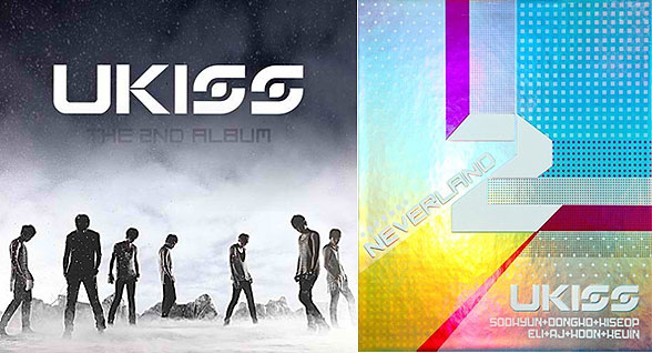 U-Kiss Neverland new album covers K-pop boyband